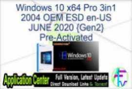 Windows 10 X64 Enterprise LTSC 2019 OFF19 en-US DEC 2020 {Gen2}