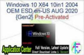 Windows 7 10 X64 21in1 OEM ESD en-US AUG 2020 {Gen2}